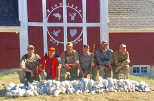 Update spring snow goose banner pic